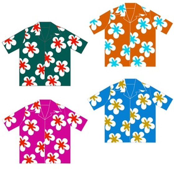 Hawaiian shirts form the basis of Hawaiian dress.