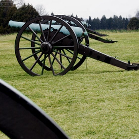 Virginia has hundreds of historic landmarks, including battlefields.