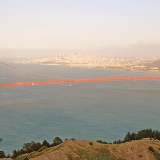 The Golden Gate Bridge is just one of San Francisco's popular landmarks.