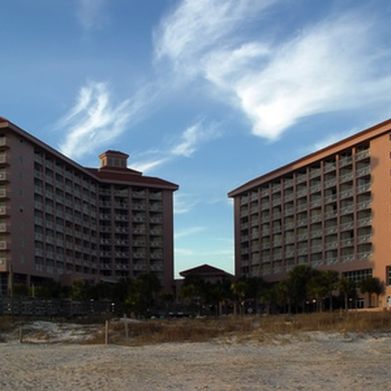 Corpus Christi features numerous waterfront hotels