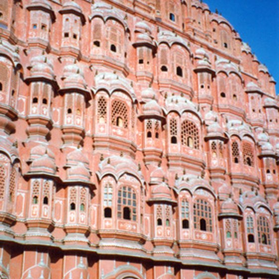 The Wind Palace is one of Jaipur's iconic sights.