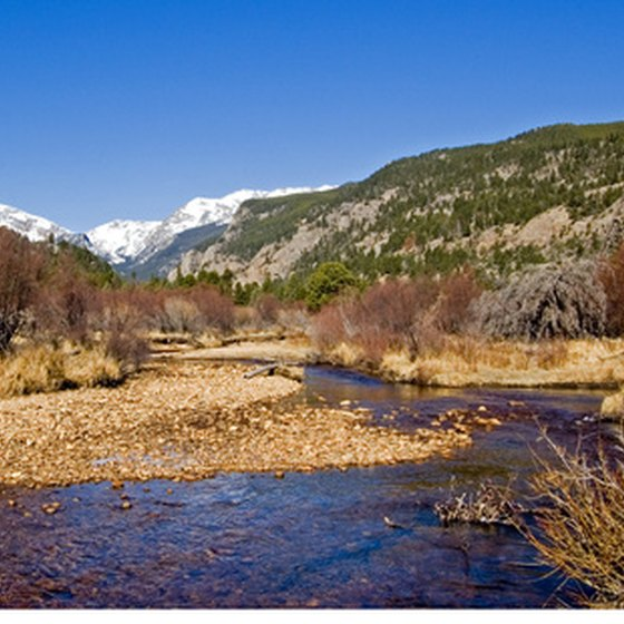 The Big Thompson River, Estes Park, Colorado