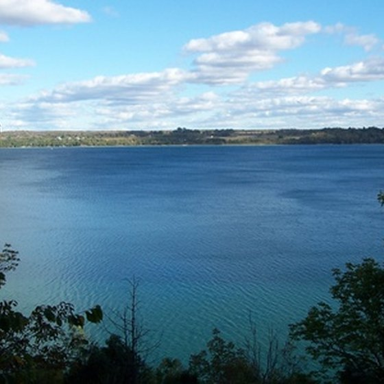 Ontario is home to more than 400,000 lakes.