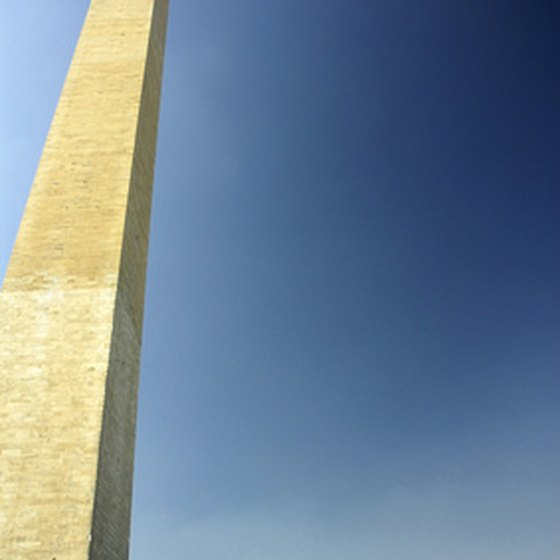Washington, D.C., is a popular tourist destination.