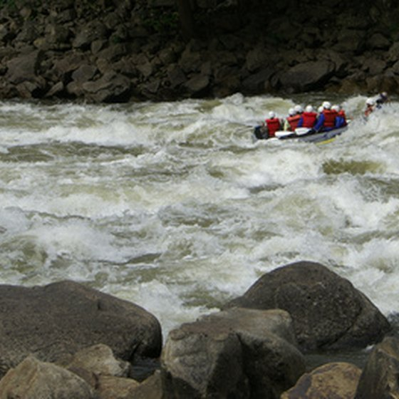 Moab-area rafting offers both thrills and scenery.