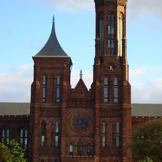 Smithsonian castle entrance