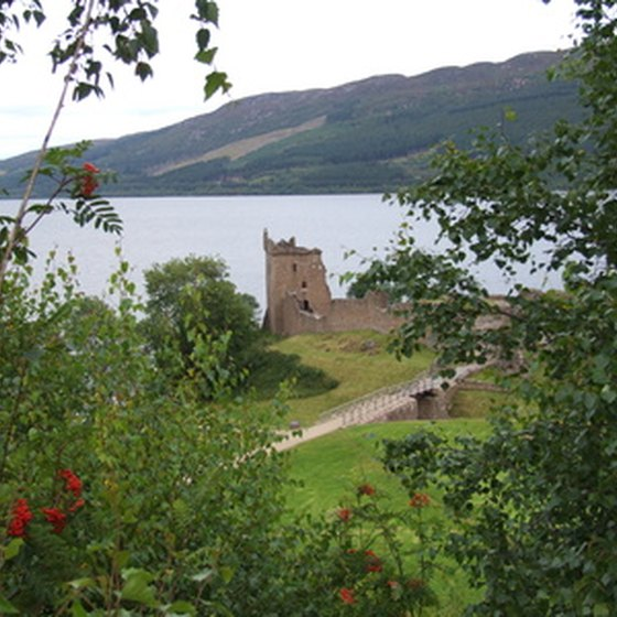 A view of Loch Ness