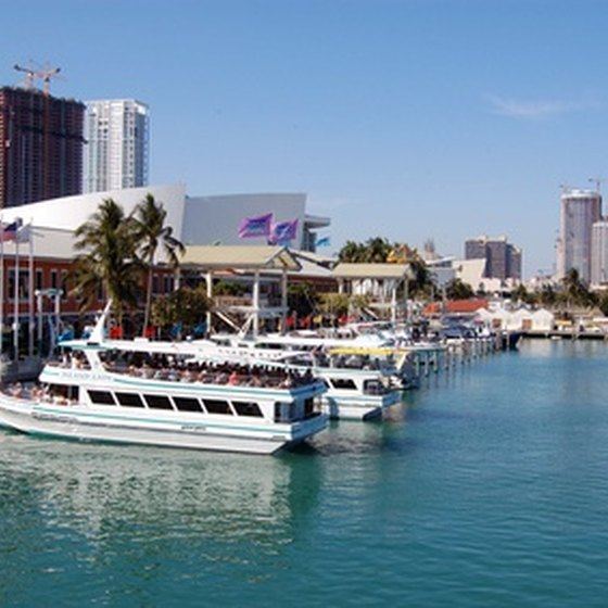Miami's attractions include fun in the sun on boats that float.