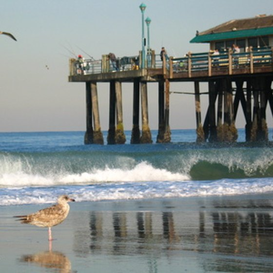 The Redondo Beach Pier in Los Angeles County has fishing, arcades, dining and shopping.