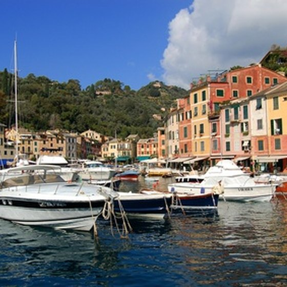 Portofino's horbor is highly photogenic.