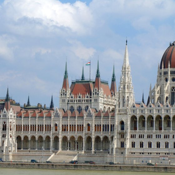 Budapest's Parliament House is one of the sights along the Danube.