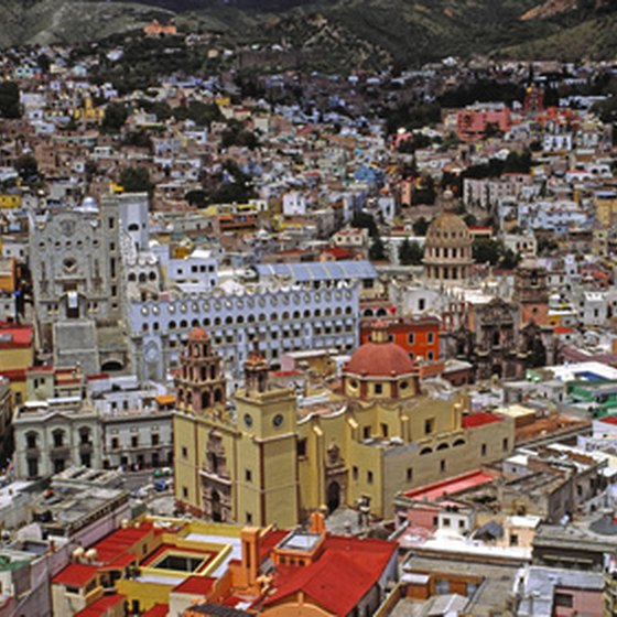 Guanajuato is a popular destination for cultural tourists to Mexico.