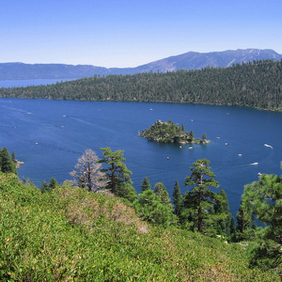 South Lake Tahoe offers scenic views and a variety of golfing options.