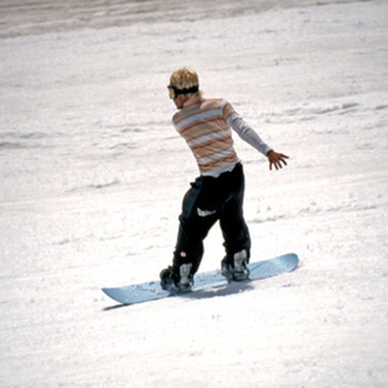 Just one of the winter sports to enjoy in the Poconos