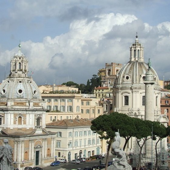 A vacation in Rome offers a rich history of art and culture.