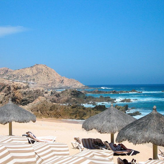 Cabo San Lucas lies at the southern tip of Mexico's Baja California peninsula.