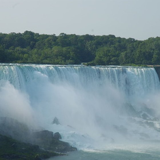 The views of Niagara Falls are always captivating.