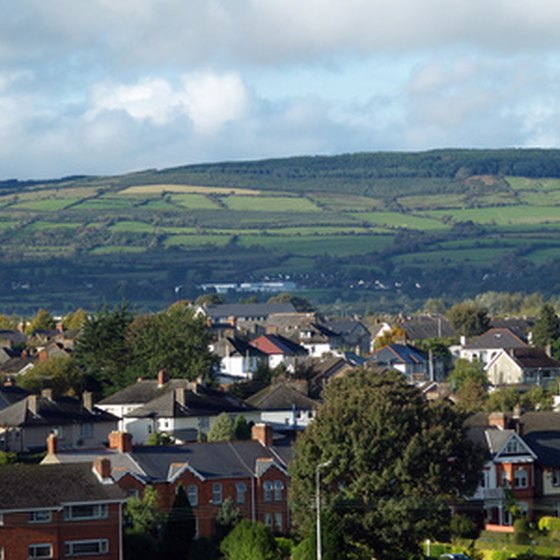 Ennis, Ireland, is located in the center of County Clare.