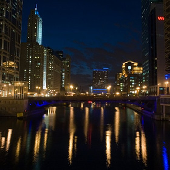 The Chicago River gets special treatment during March.