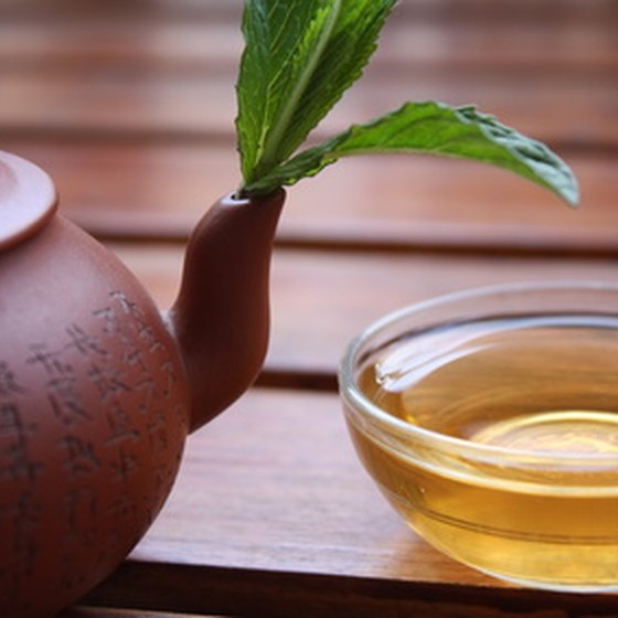 Traditional Chinese doctors often prescribe herbs and teas.