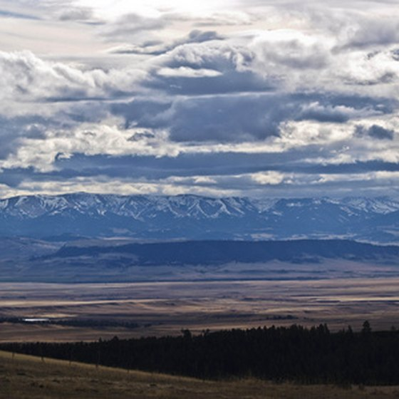 "Montana state parks offer specatular views of ""Big Sky Country."""