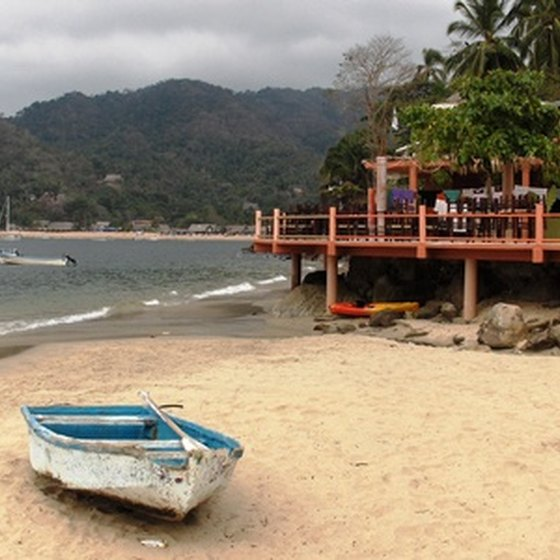 Puerto Vallarta is surrounded by the jungles of the Sierra Madre.