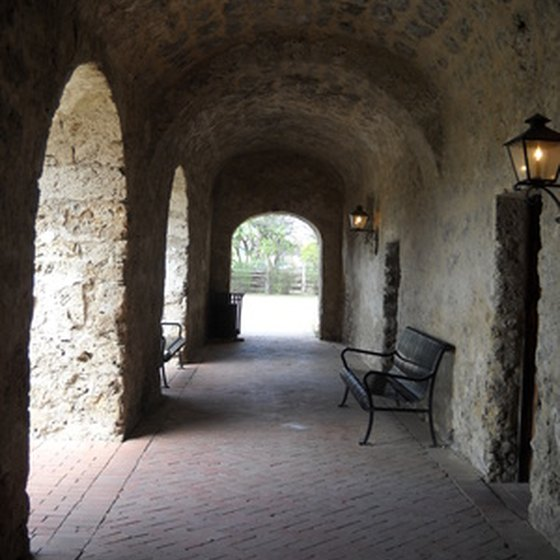 San Antonio features a rich historic past and unique terrain.