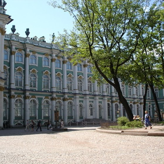 St. Petersburg's Hermitage Museum is among the world's most famous.