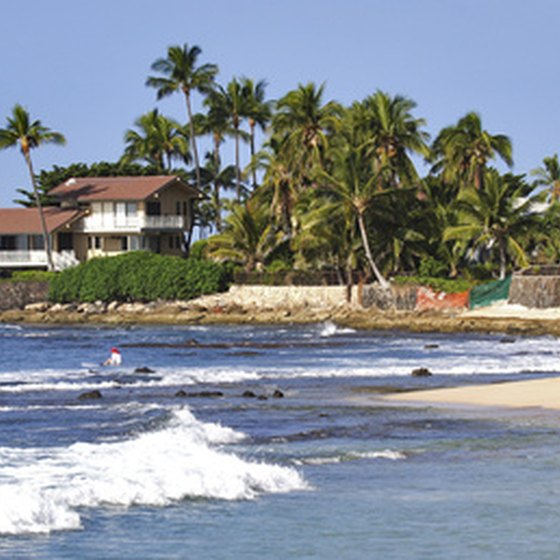 Oahu's beautiful beaches and ample waves draw numerous visitors to the Hawaiian island.