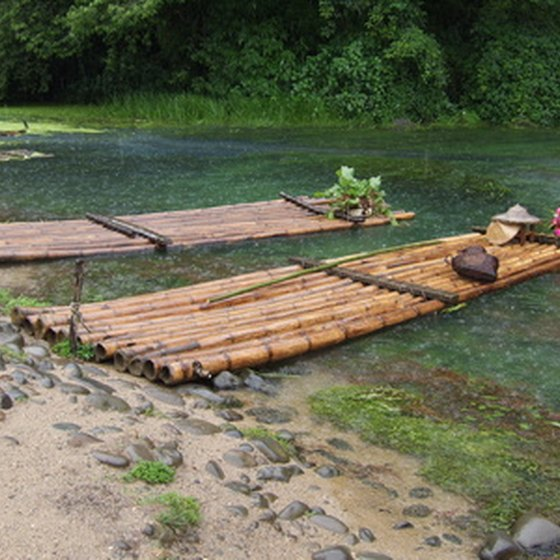 Jamaica's river rafts