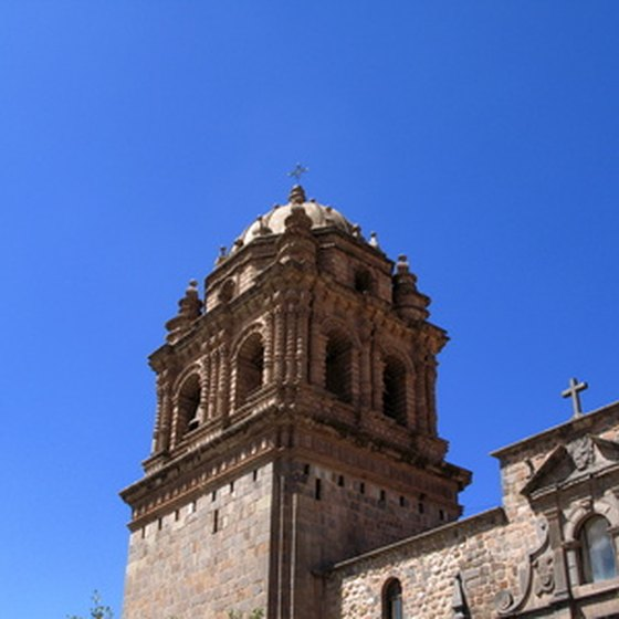 Cuzco is one of the highest cities in South America