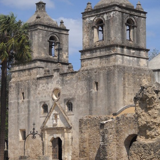 San Antonio missions date back to the 1700s.