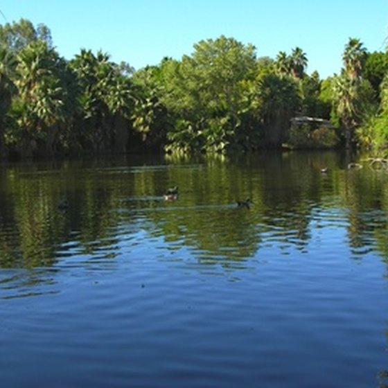 The Vero Beach area features campgrounds on lagoons.