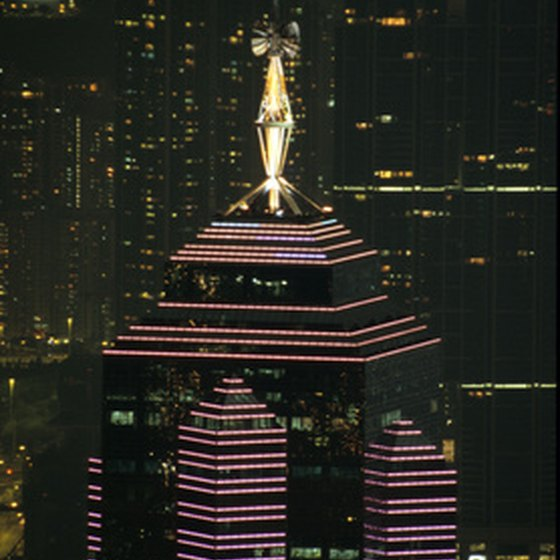 Stay in a luxurious hotel while visiting Hong Kong.