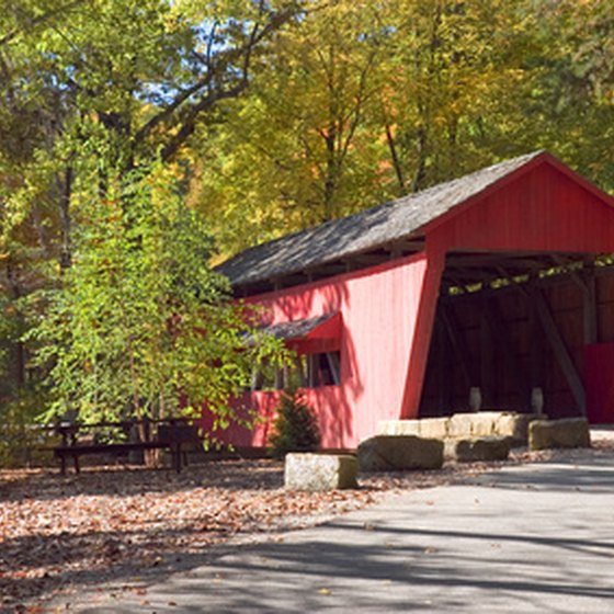 Madison County, IA, is known for its covered bridges.
