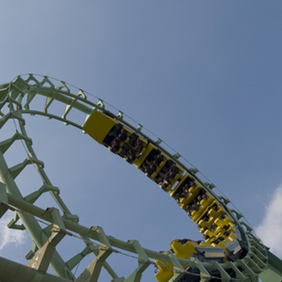 The roller coaster is only one of Wildwood's boardwalk attractions.