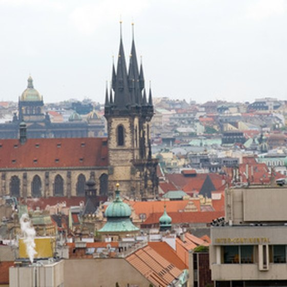 Prague in the Czech Republic, is a highlight of many river cruises.