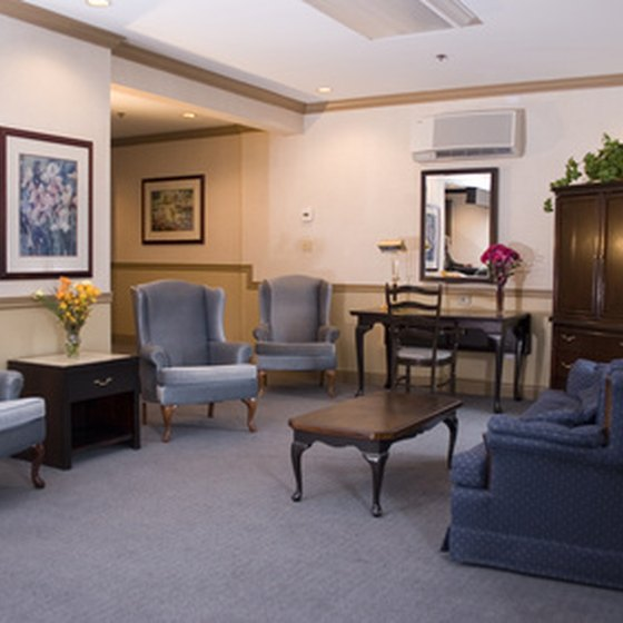 Houston features various suite hotels.
