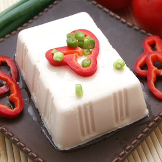 Tofu is a popular choice for vegan diners in Japan.