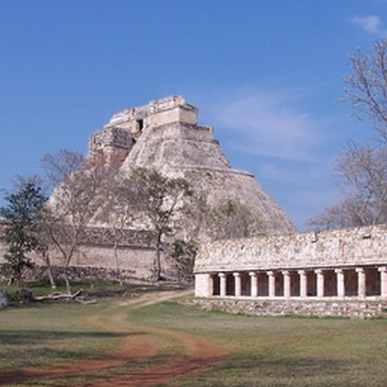 Uxmal is one of the Yucatan's largest Mayan sites.