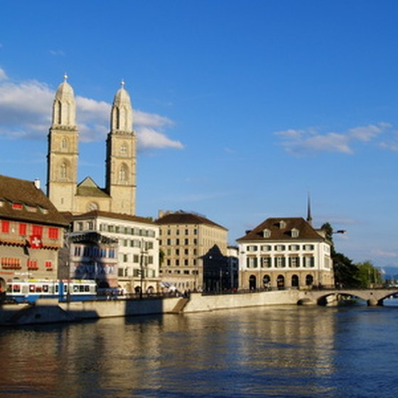 Specialty tours may cover the art and architecture of Switzerland.
