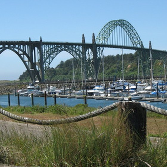 Yaquina Bay is one of the primary attractions of Newport.