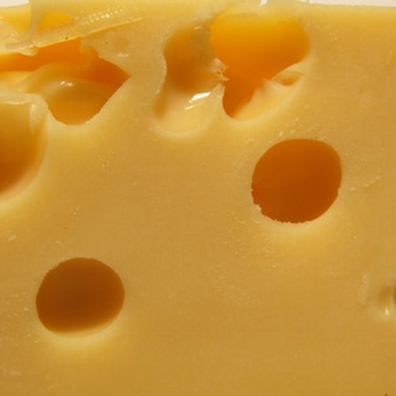 Switzerland produces some of the most iconic cheese in the world.