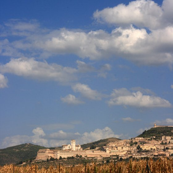 Assisi is one of the stops on Bluone's Umbrian culinary tour.