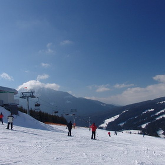 Several ski resorts are close to Washington D.C.