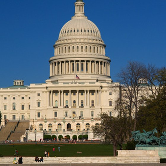 During your day trip to Washington, visit the US Capitol.
