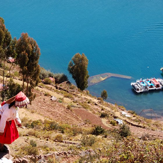Lake Titicaca is one of Peru's foremost tourist attractions.