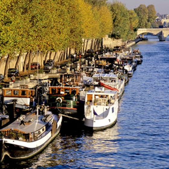 You can cruise the Seine in Paris in a variety of ways.