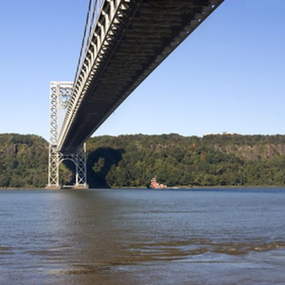 Pocantico Hills, New York, is a short distance from the Hudson River.