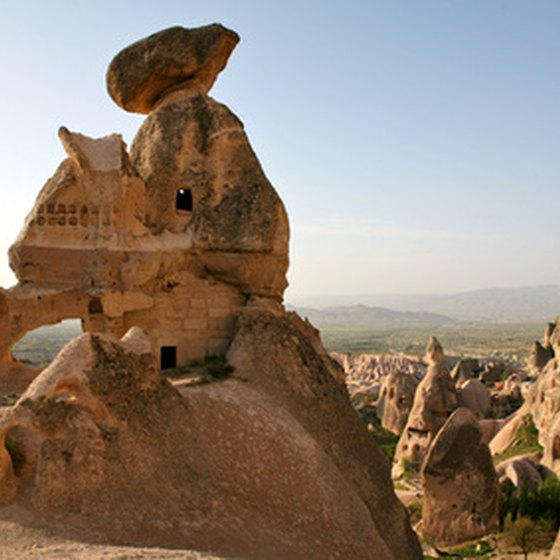 Cappadocia is strange in the daytime, but even more so at night.